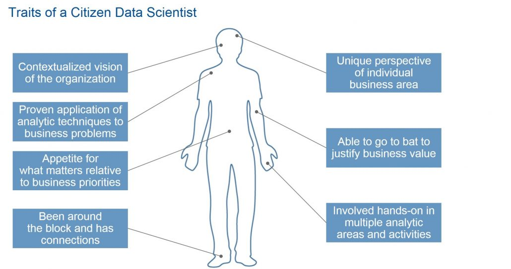 what does a citizen data scientist do